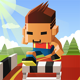 Blocky Hurdle Rush