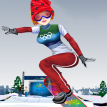 Winter Olympics Girl