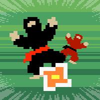 Retro Ninja Star